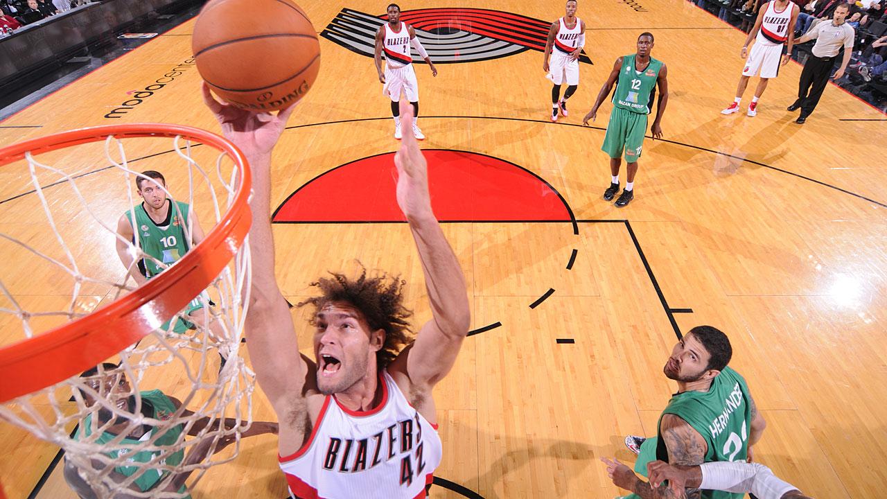 NBA | Portland defeats visiting Maccabi Haifa | SPORTAL