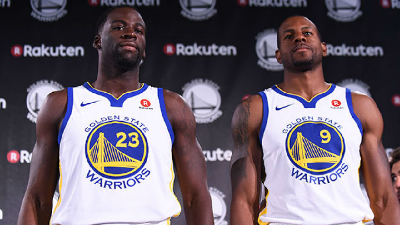 Warriors, Rakuten Reportedly Agree to $20 Million Per Year Jersey Sponsorship