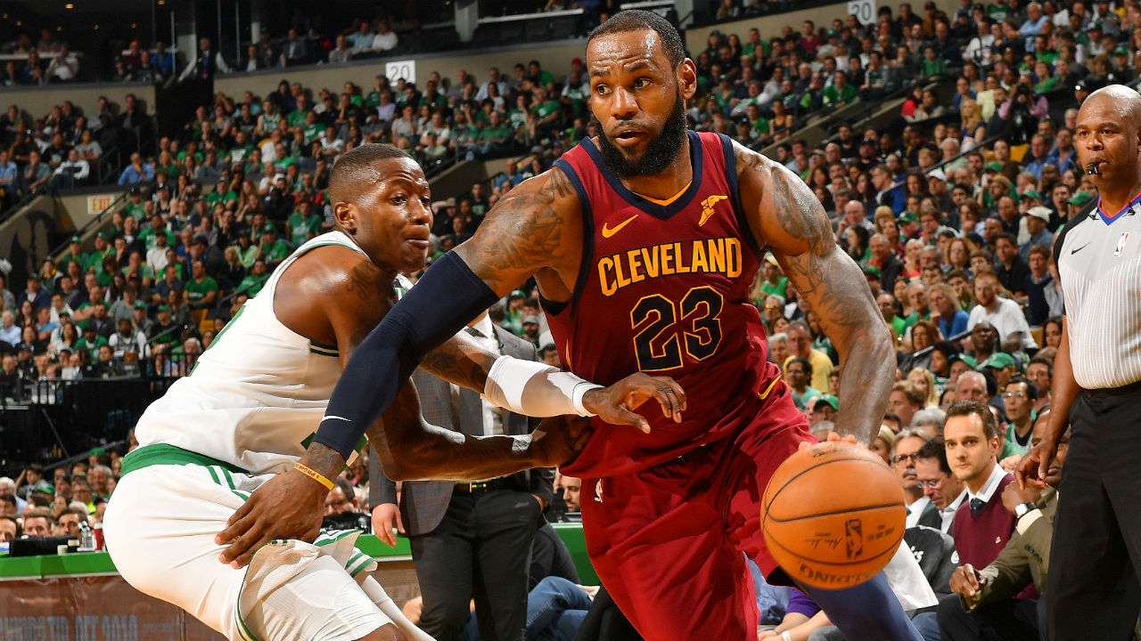 LeBron dominates Celtics as Cavs draw level