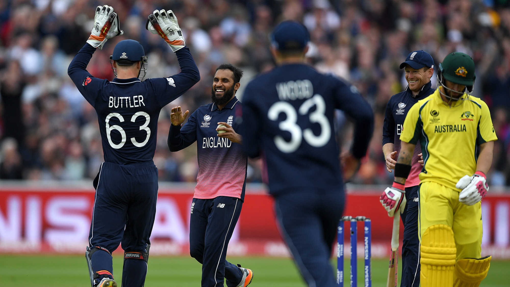 England beat Australia by 40 runs in rain-hit match