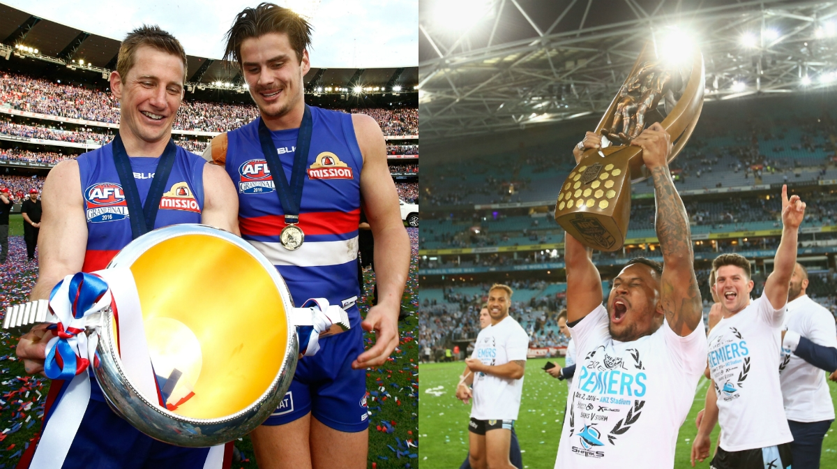 Bulldogs hit the books for AFL inspiration