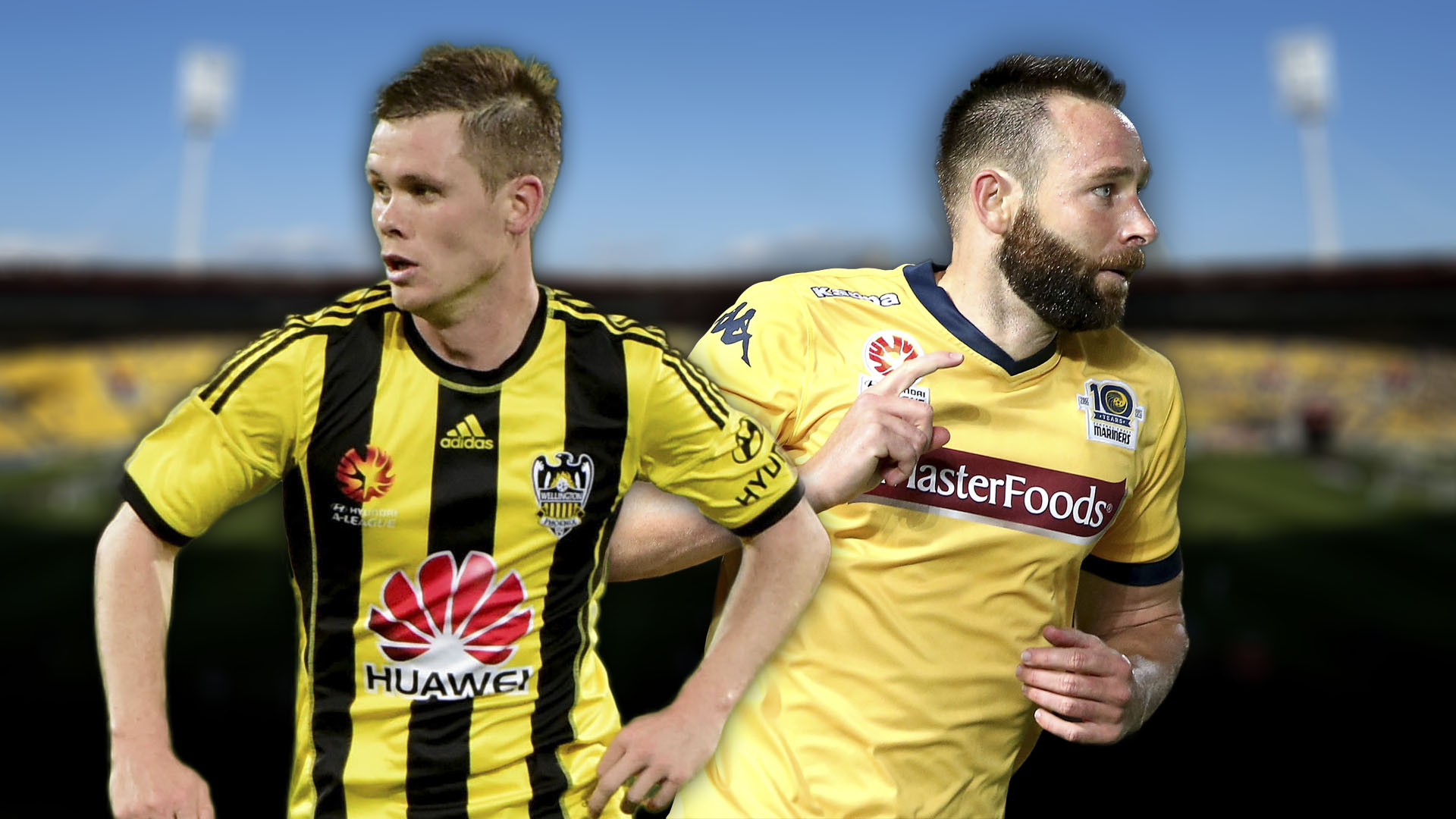 A-League.  Wellington Phoenix v Central Caost Mariners