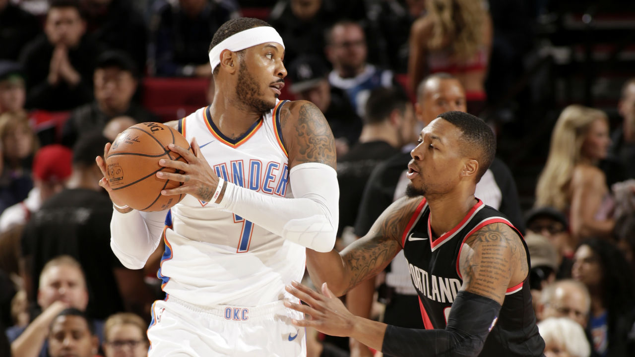 Carmelo Anthony ejected from Sunday's game in third quarter