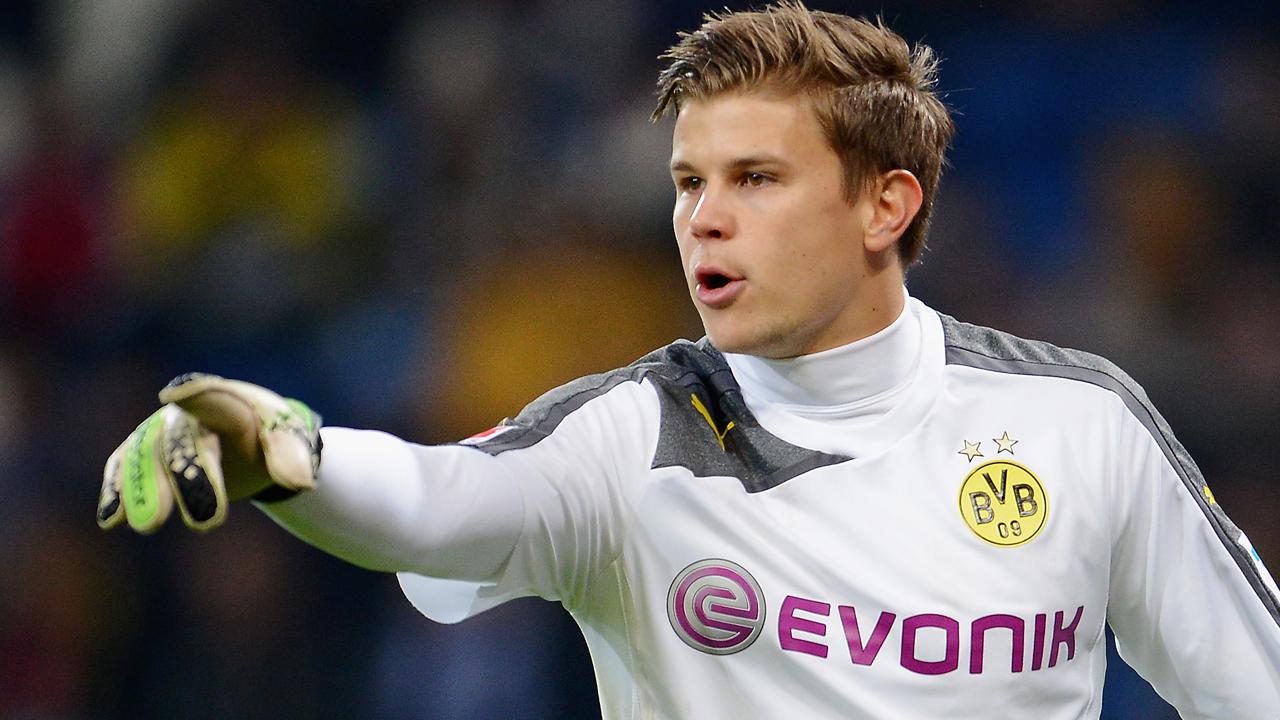 Goalkeeper Mitchell Langerak of Borussia Dortmund