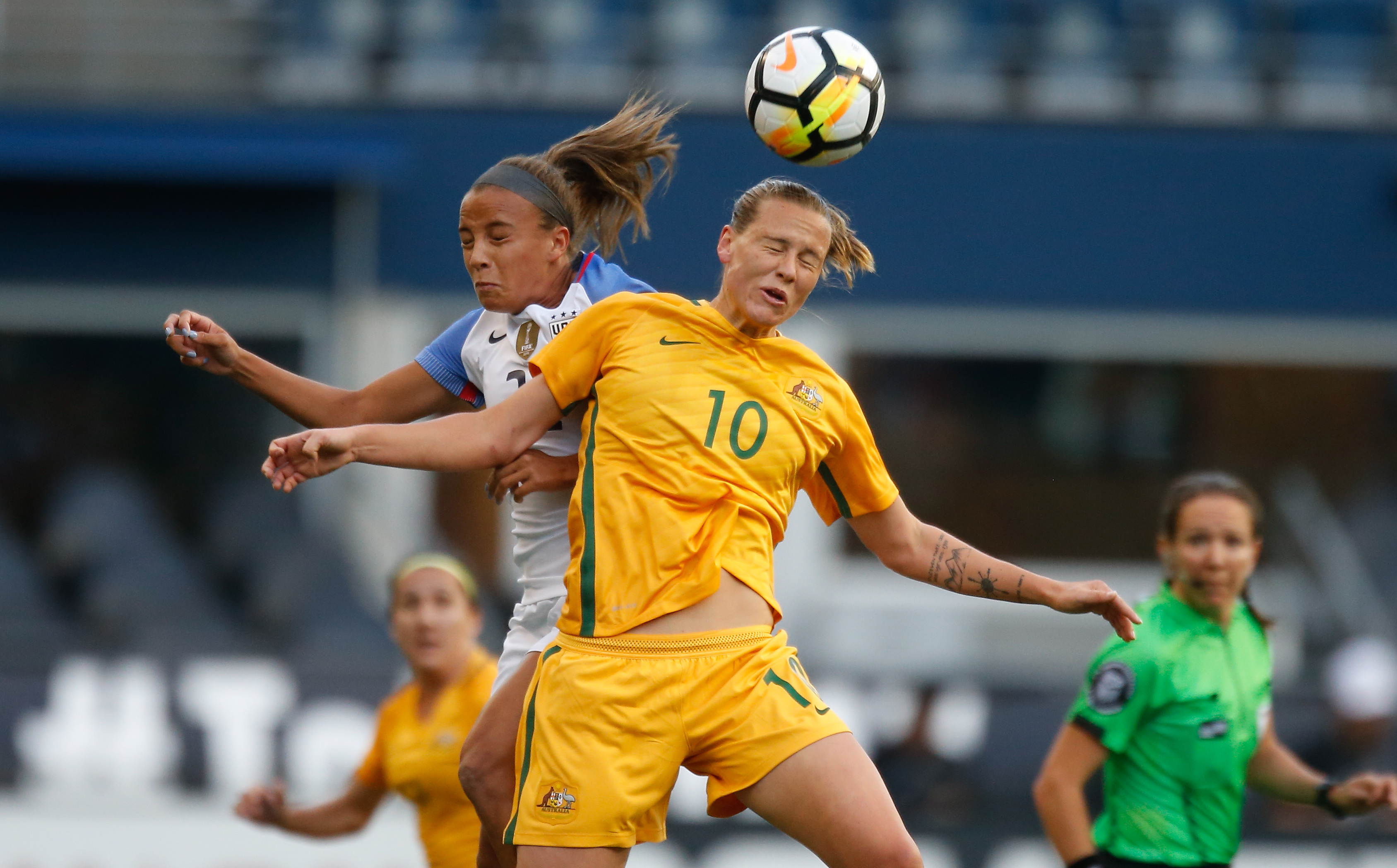 U.S. women look to regroup after falling to Australia at CenturyLink