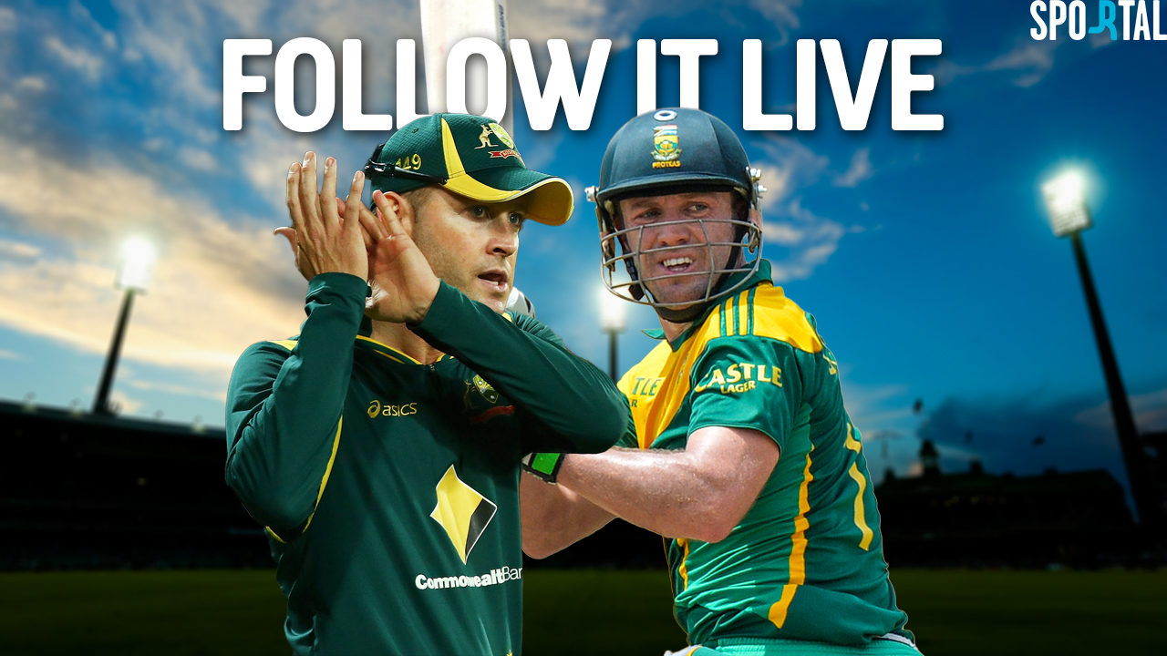 Live Coverage. ODI Cricket. Australia v South Africa