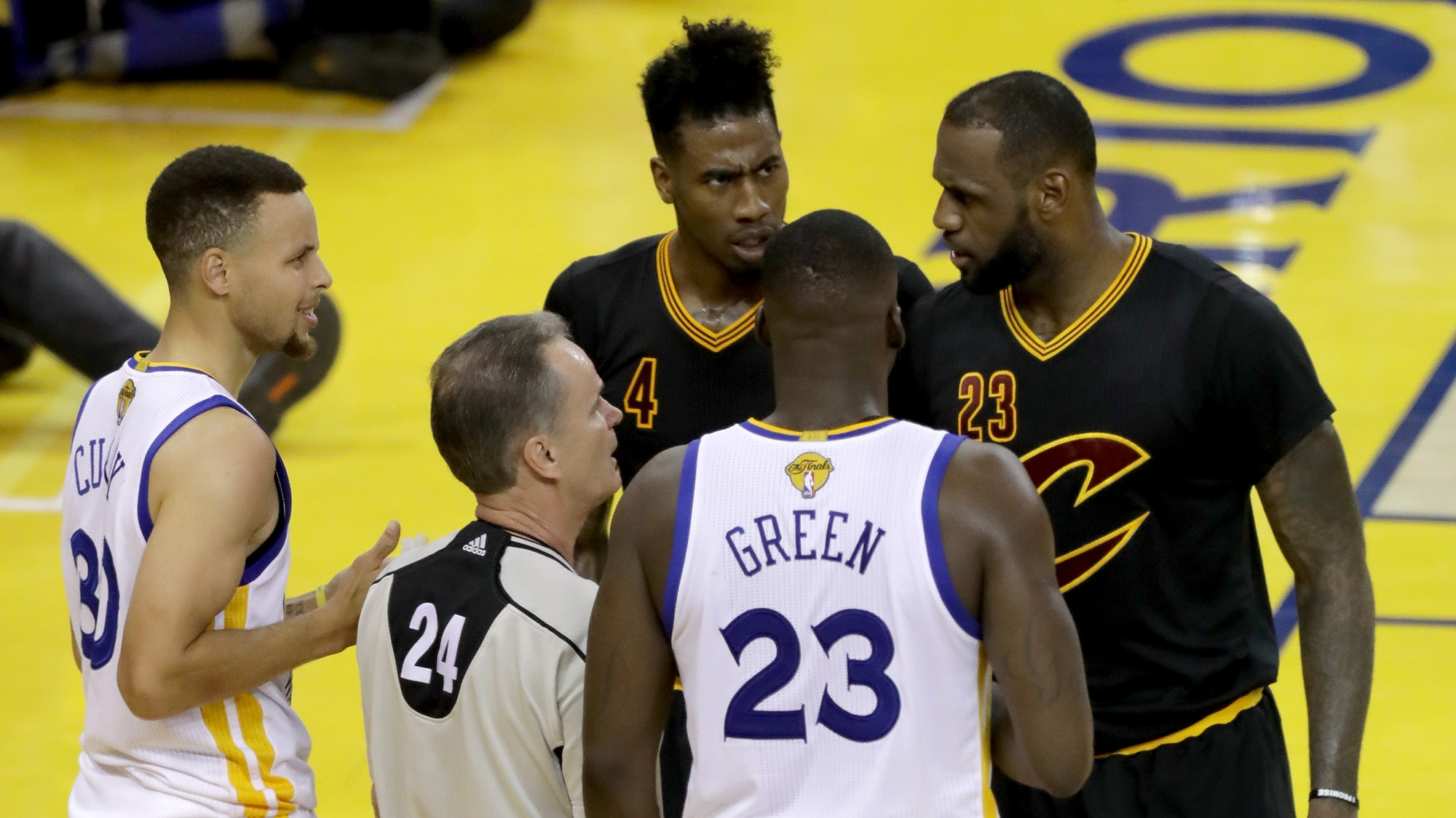Warriors unhappy about LeBron's Halloween party props | NBA ...