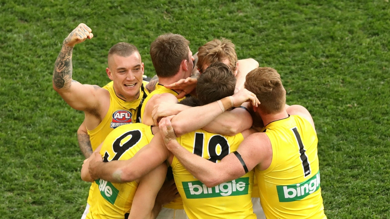 Grand final player ratings: Richmond Tigers | AFL | Sporting News