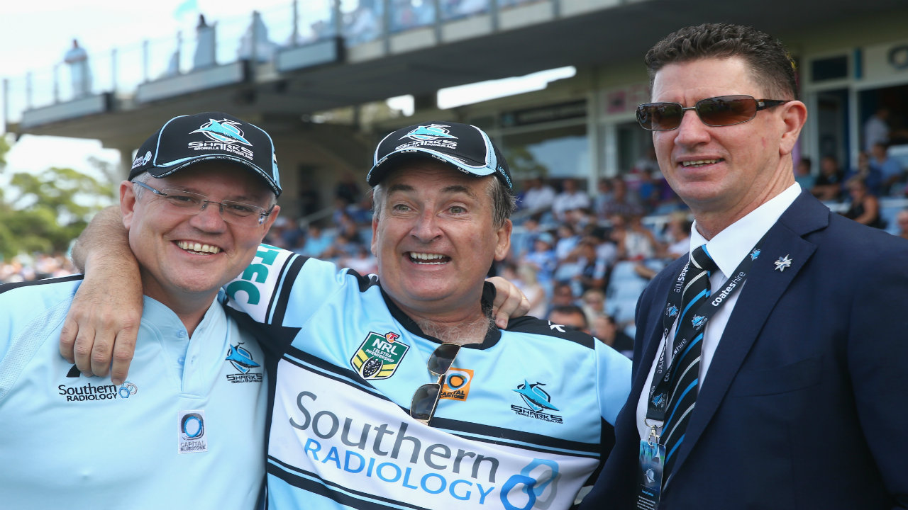 Cronulla Sharks chairman Damian Keogh stands down over alleged cocaine possession