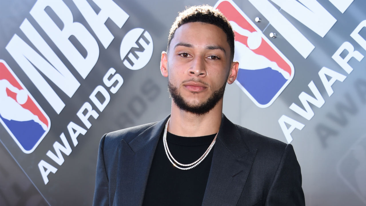 Australian NBA star Ben Simmons wins rookie of the year