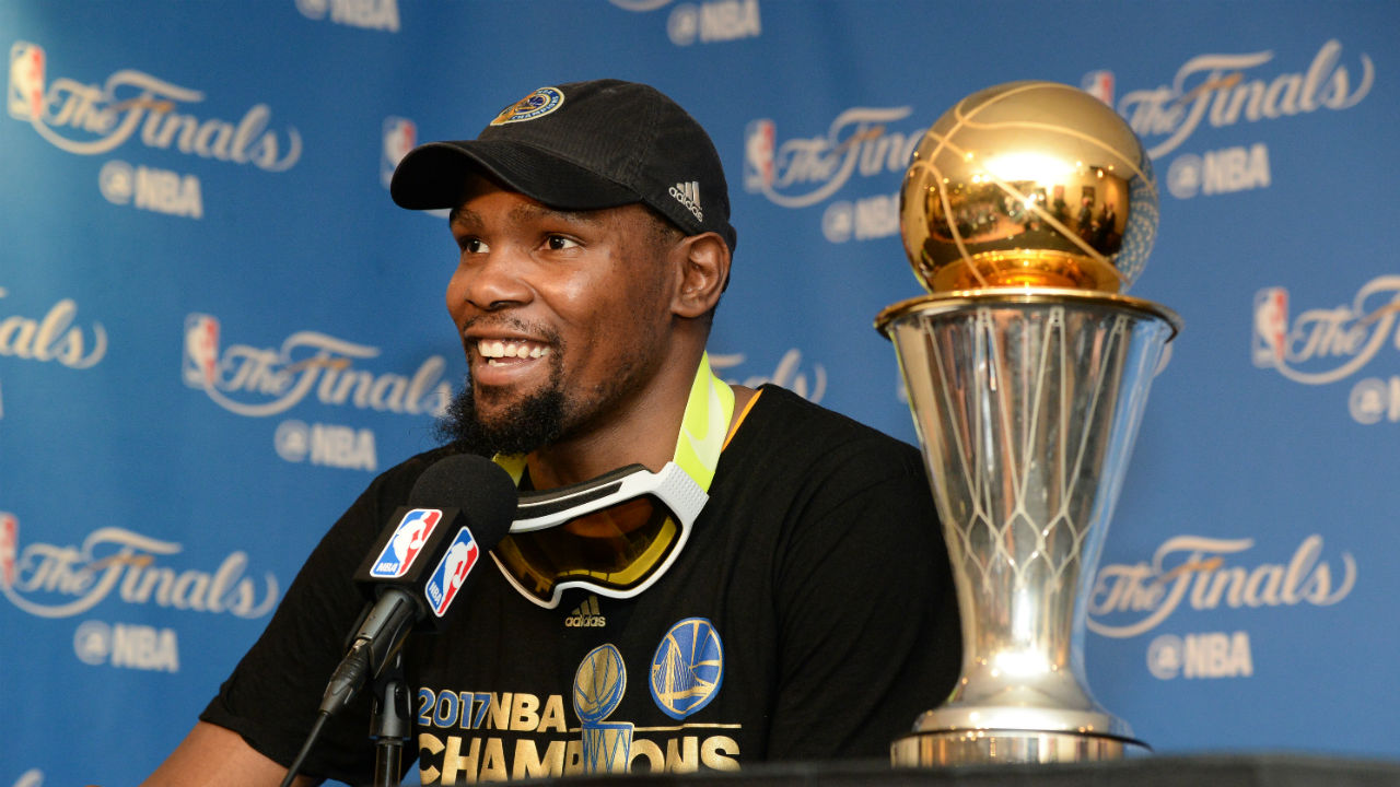 Golden State Warriors' MVP Kevin Durant adds an important title: champion