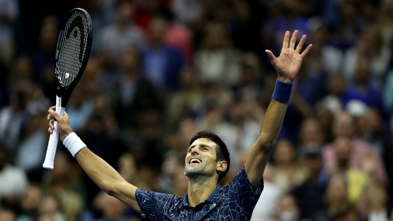 Novak Djokovic Quality 100 Open Magnificent Equals Pete