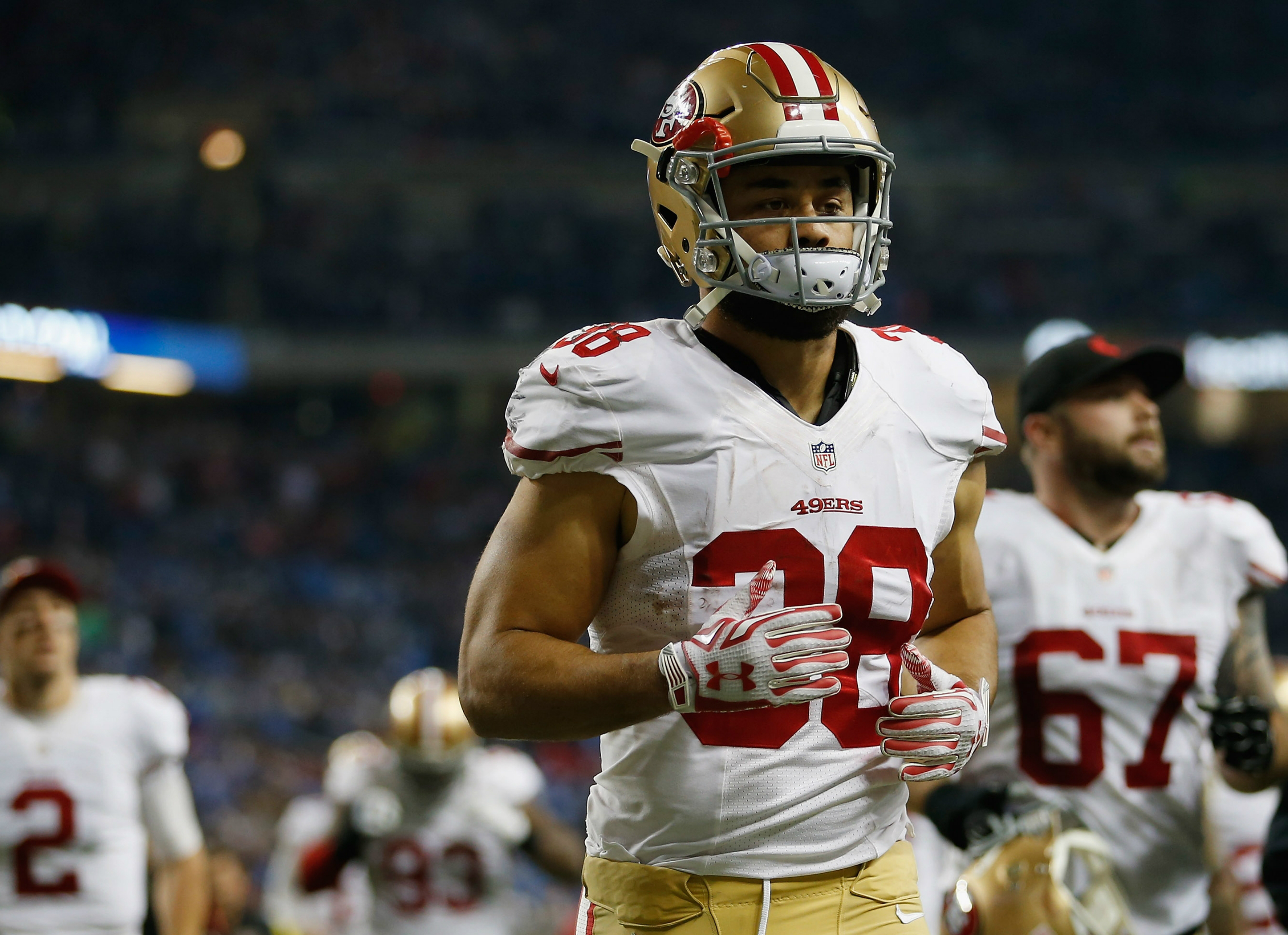 Jarryd Hayne denies accusations of rape in USA  during 49ers National Football League  stint