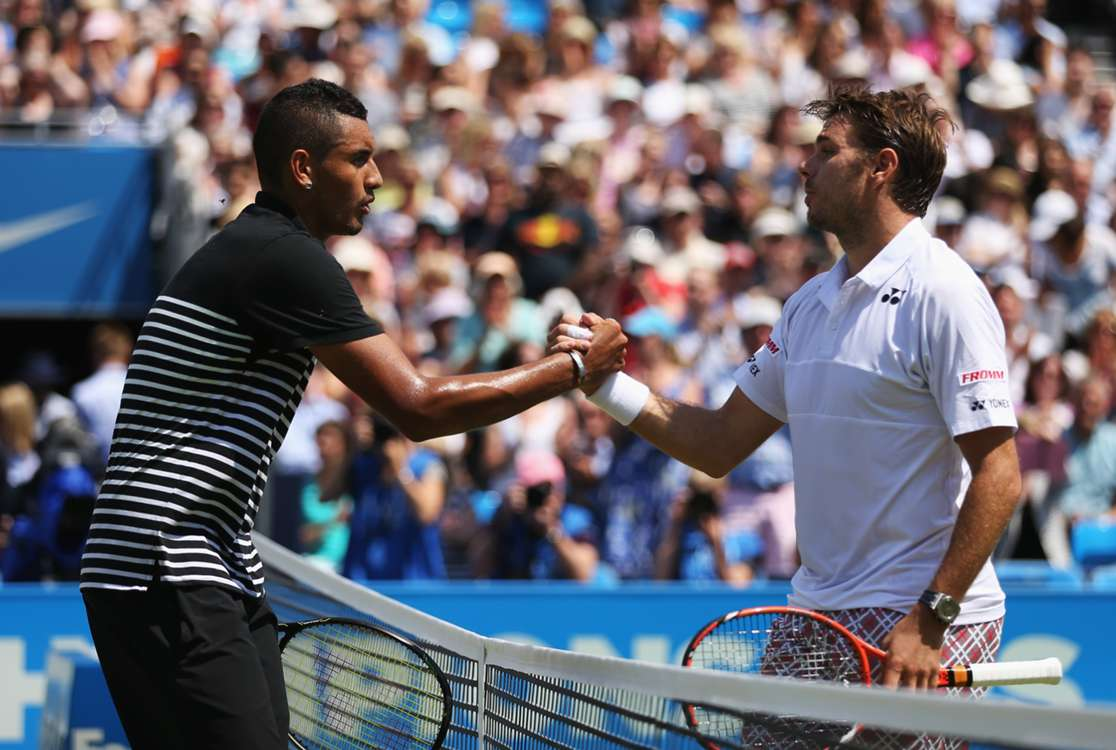 Nick Kyrgios and Stan Wawrinka become teammates