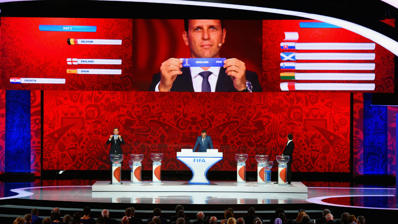 Pots announced for final draw for 2018 FIFA World Cup