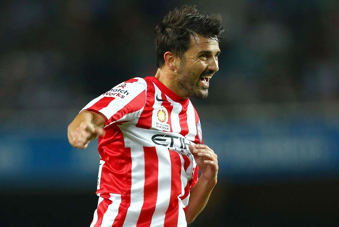David Villa enjoyed his 24-day stint in the A-League