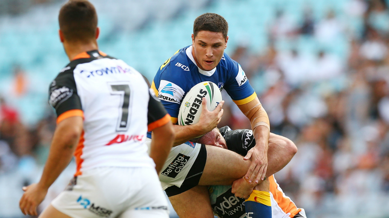 Benji Marshall turns back clock in Tigers win over Parramatta