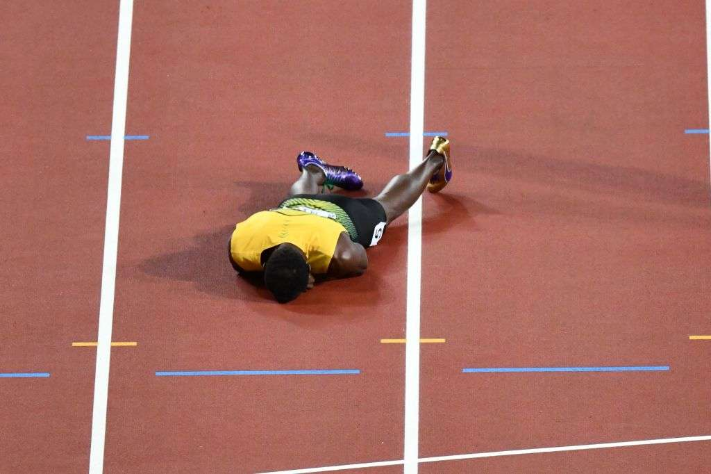 WATCH: Bolt fails to finish final race as GB take shock relay gold