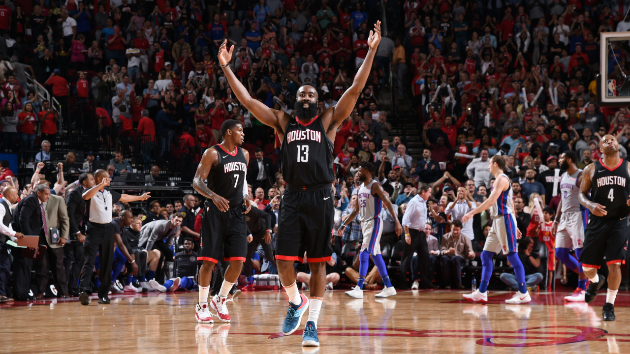 Rockets beat Pistons for 7th straight win