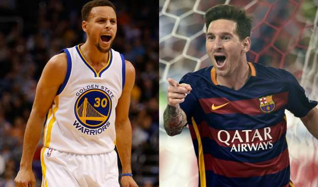 Curry and Messi