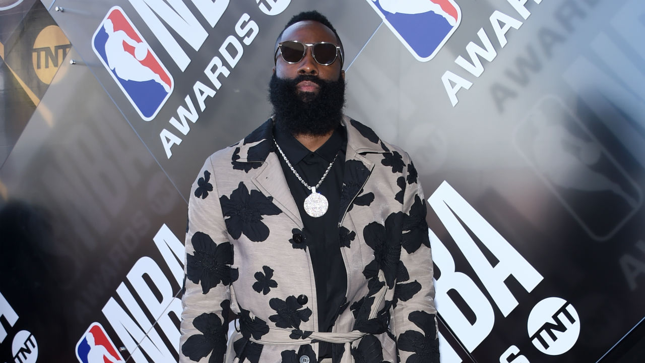 NBA Awards honor James Harden, Ben Simmons, Lou Williams