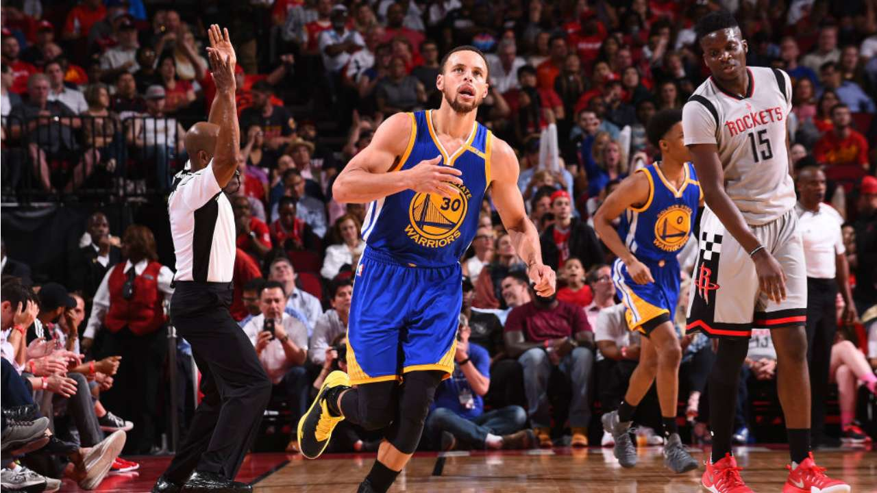 Warriors' win streak reaches eight games after cooling James Harden, Rockets