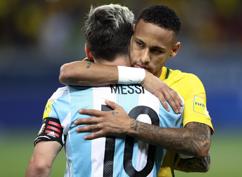 Lionel messi vs neymar at the mcg football sporting news - Neymar brazil hd ...