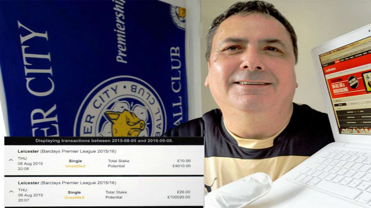 Leicester fan misses out on potential $200k win by cashing out of title bet