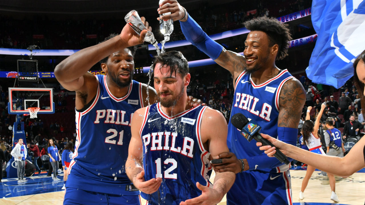 Clippers' Lou Williams calls Sixers' TJ McConnell the GOAT