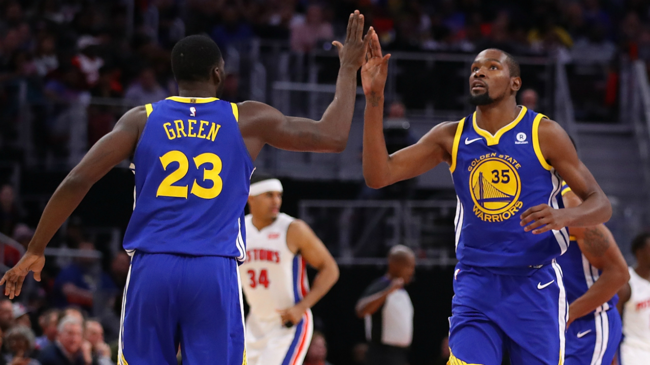 Draymond Green Endorses Kevin Durant For Defensive Player Of The Year