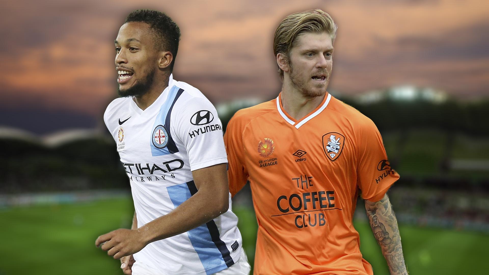 A-League.  Melbourne City v Brisbane Roar