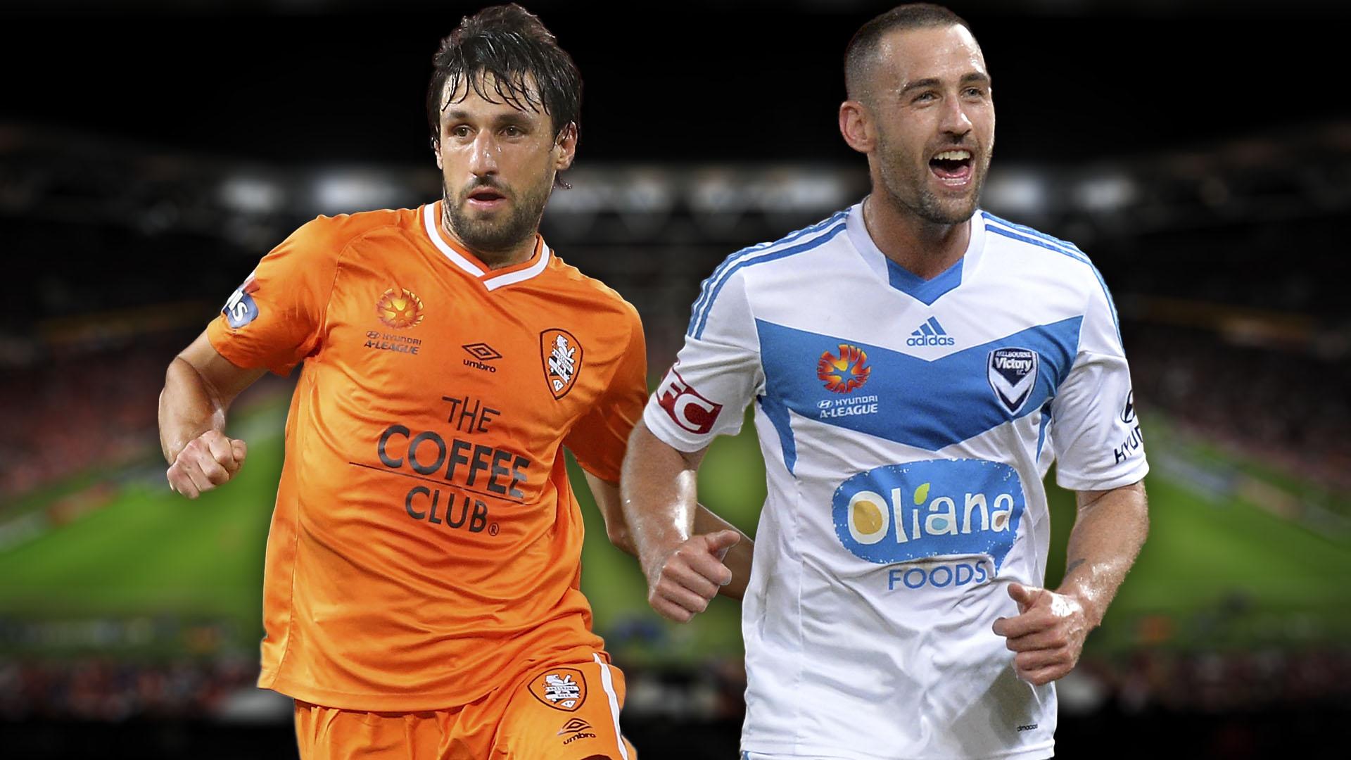 A-League.  Brisbane Roar v Melbourne Victory
