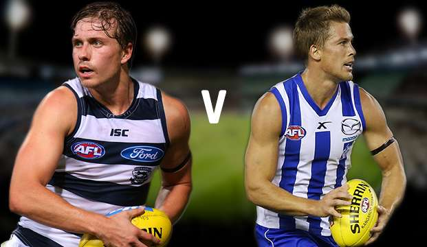 AFL. Geelong Cats. North Melbourne.