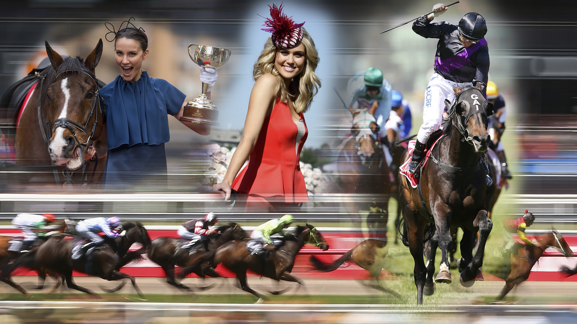 16:9. What time does the Melbourne Cup start