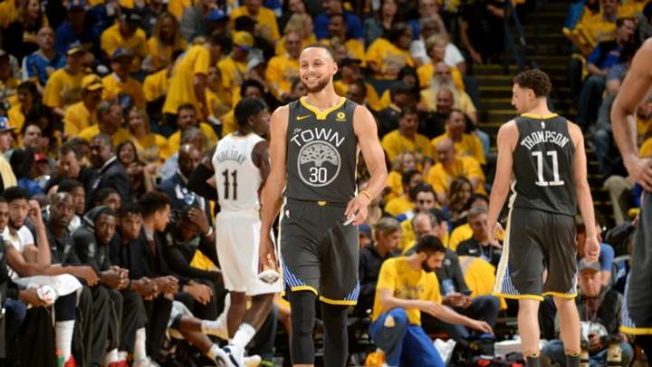 Stephen Curry after 28-point playoff debut: 'I'll be back where I should be soon' | NBA ...