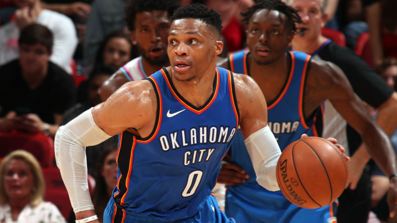 Russell Westbrook, Thunder Clinch Playoff Berth with Win vs. Heat