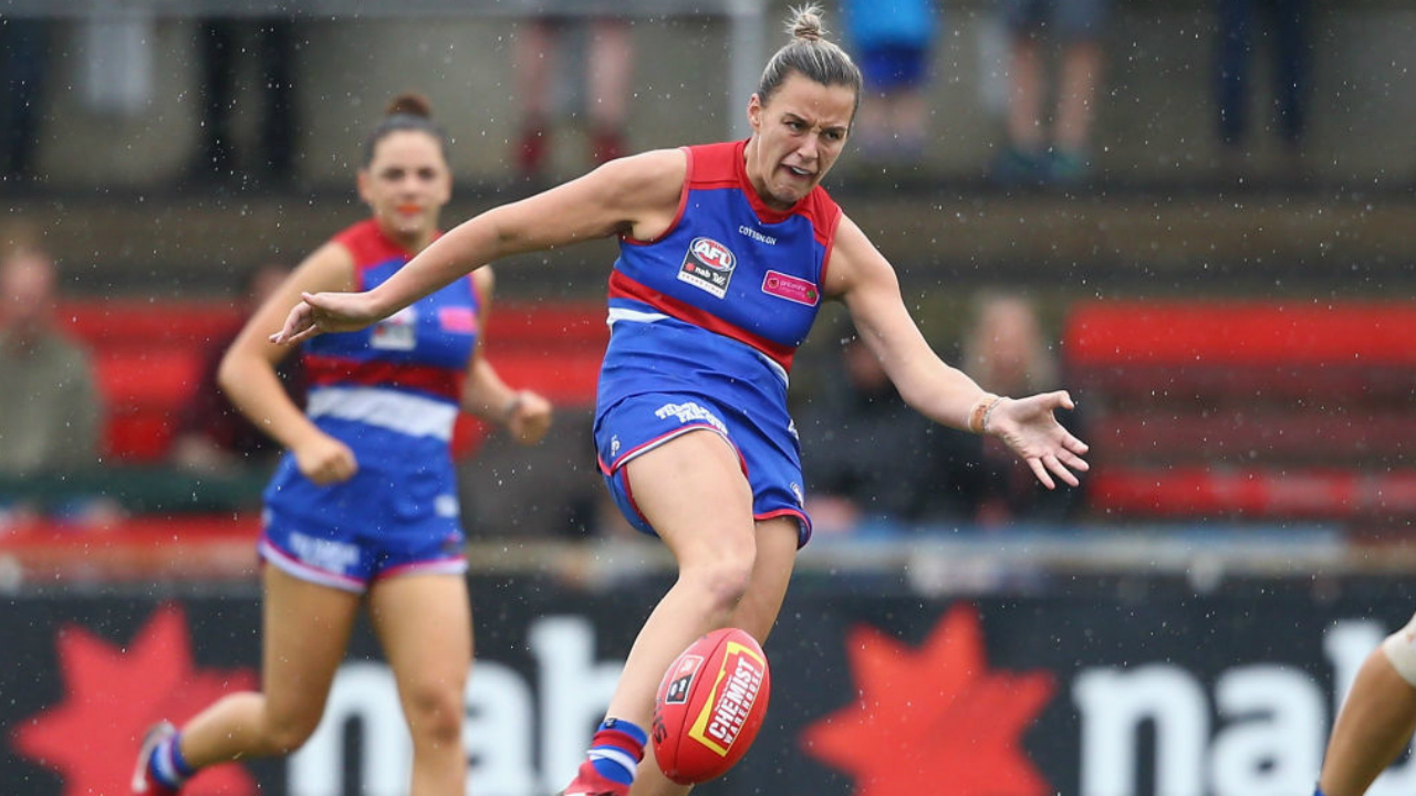 Dogs down Lions to claim AFLW premiership