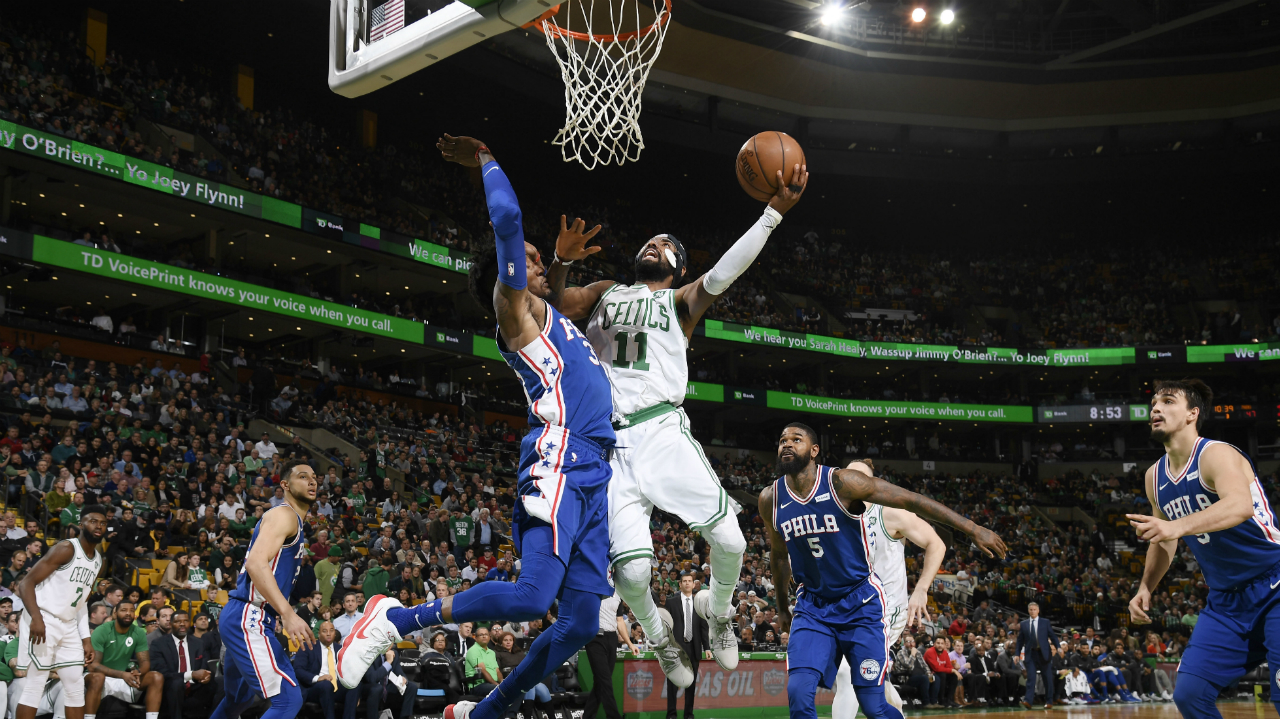 Celtics 108, Sixers 97: Kyrie Irving is unstoppable