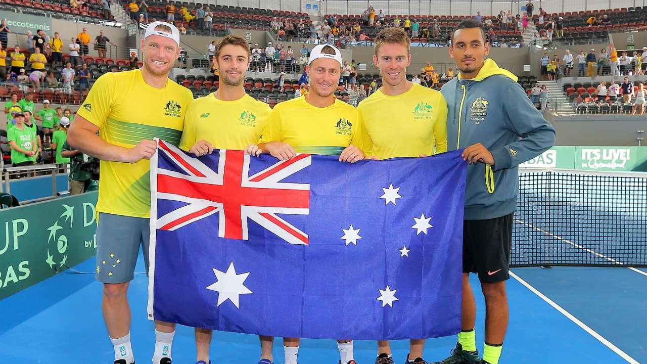 Kyrgios Confident Australia Can Win The Davis Cup