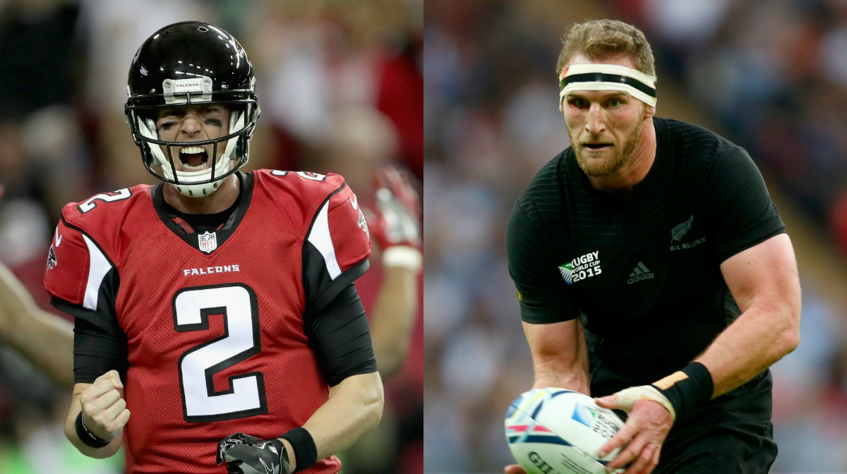 Falcons somewhat optimistic about their banged-up center