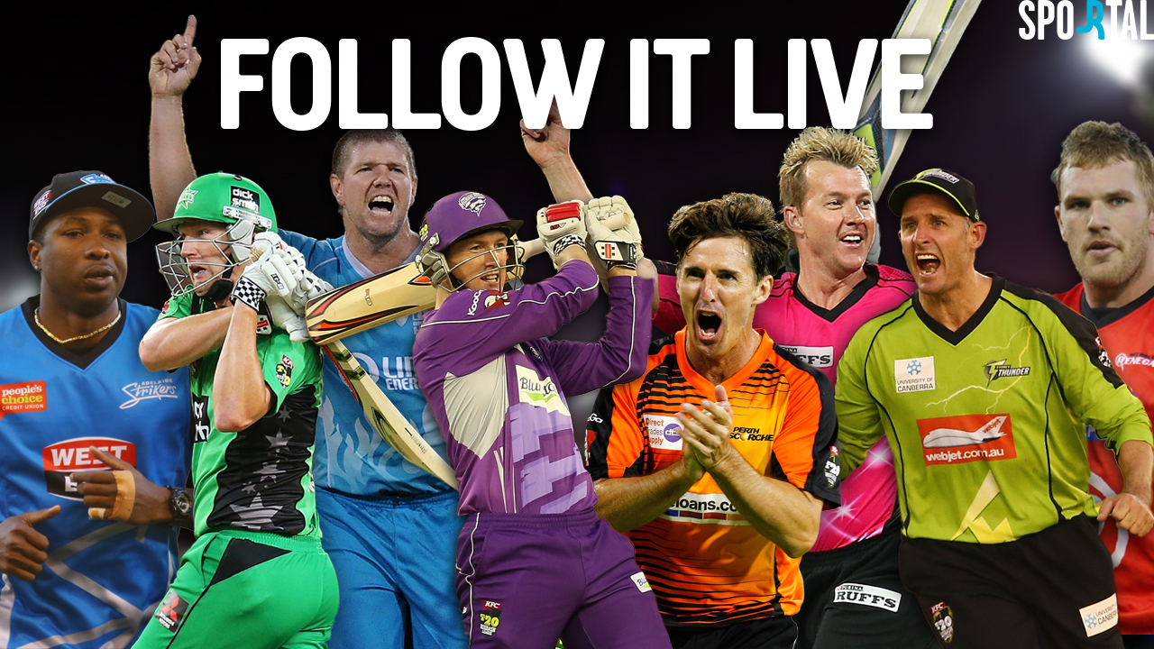 Live Coverage. Big Bash League.