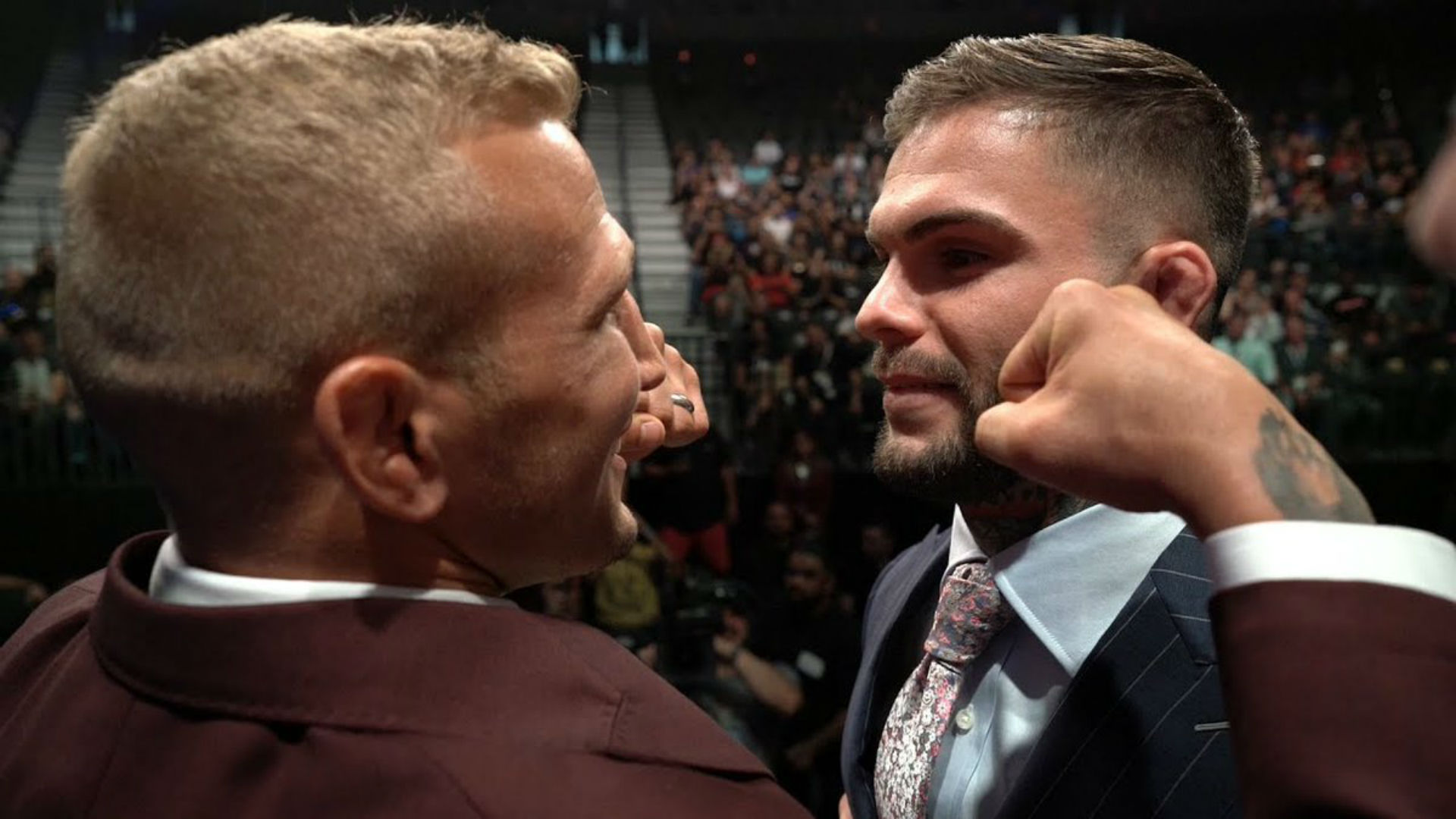 TJ Dillashaw reclaims UFC bantamweight championship with KO of Ohio's Cody Garbrandt