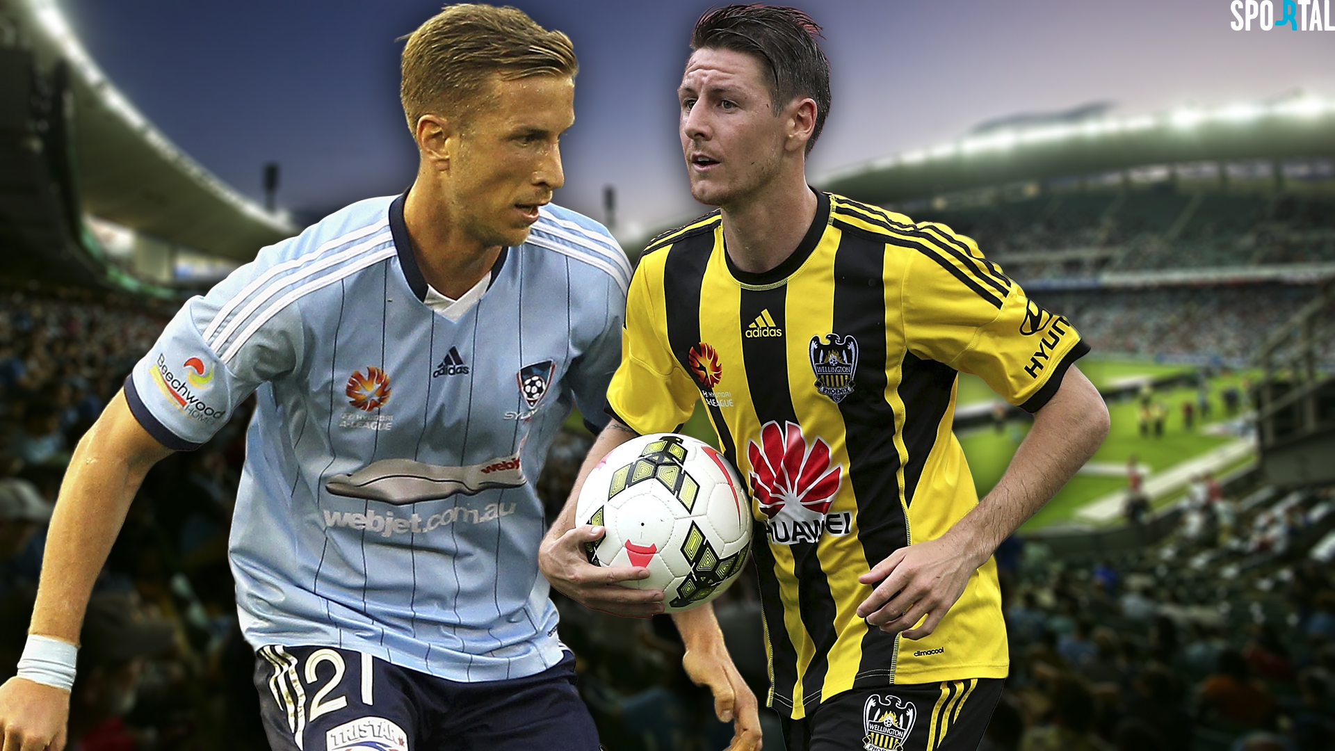 A-League. Sydney FC v Wellington Phoenix