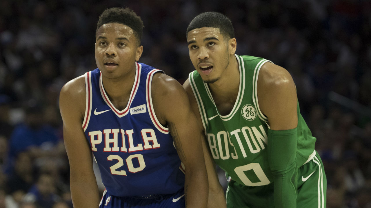 Julius Erving Admits 76ers Should've Taken Jayson Tatum With No. 1 Pick