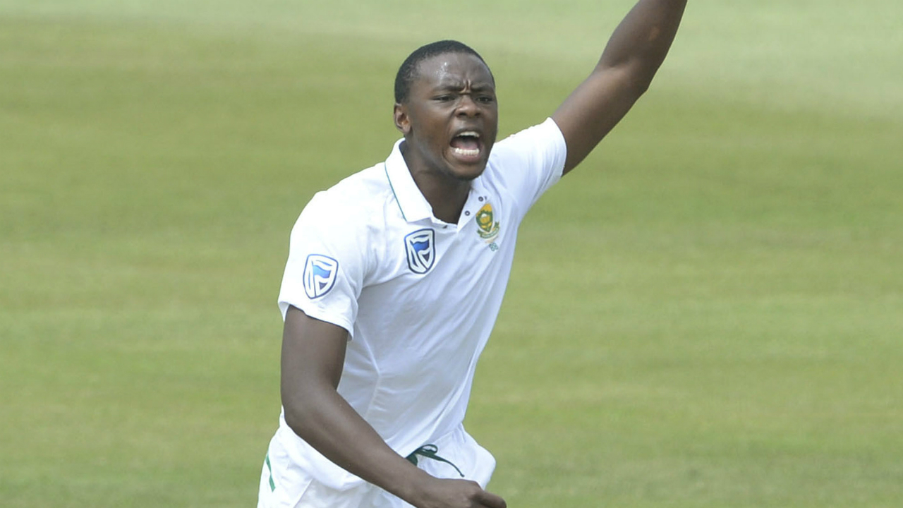 Rabada available for newlands test after overturning ban