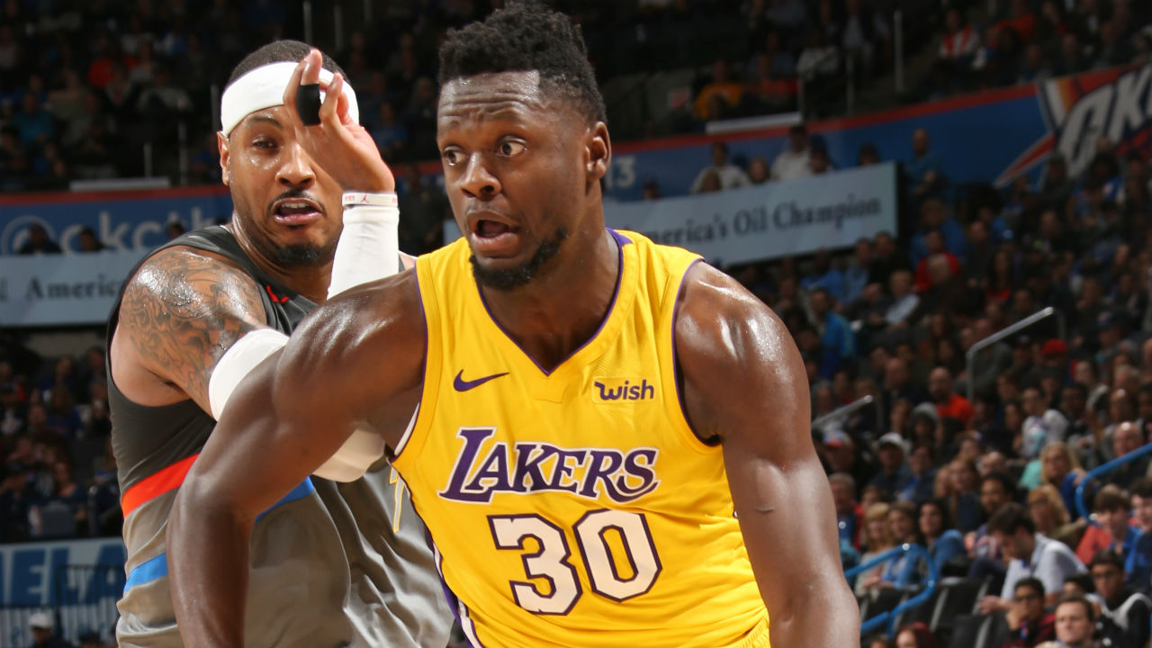 Los Angeles Lakers drop Oklahoma City Thunder 108-104