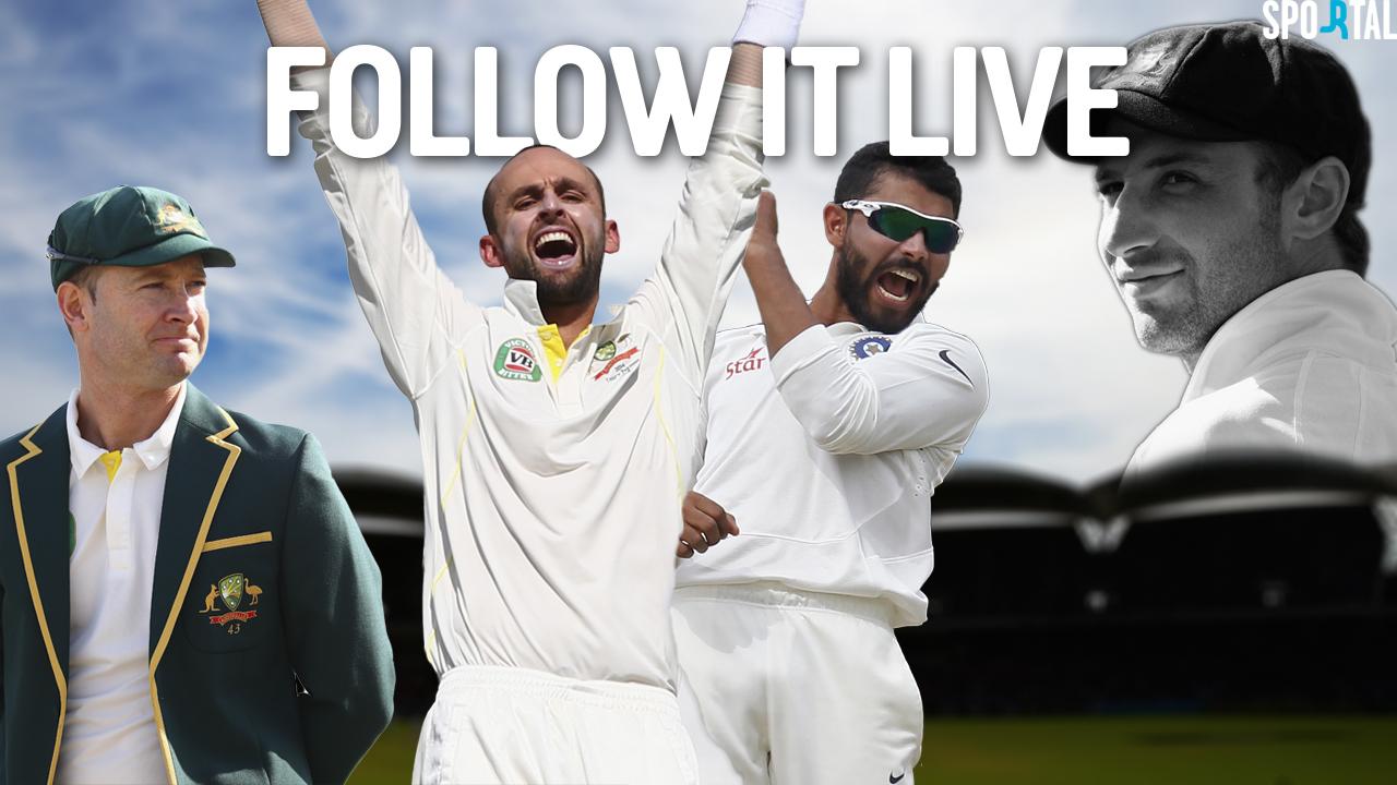 Live Coverage. Cricket. Australia v India. First Test