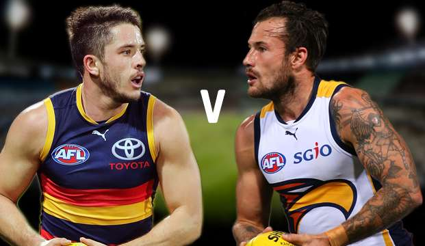 AFL. Crows vs Eagles