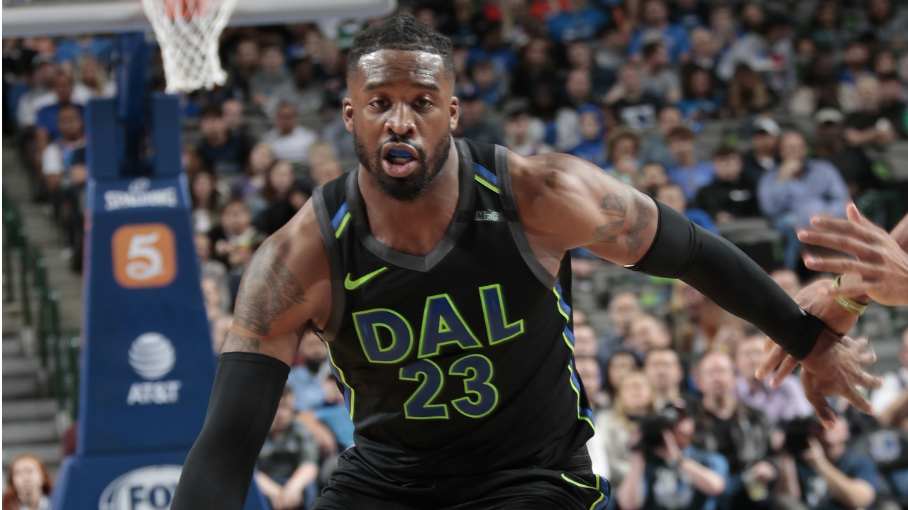 Wesley Matthews out for the year with fractured right fibula