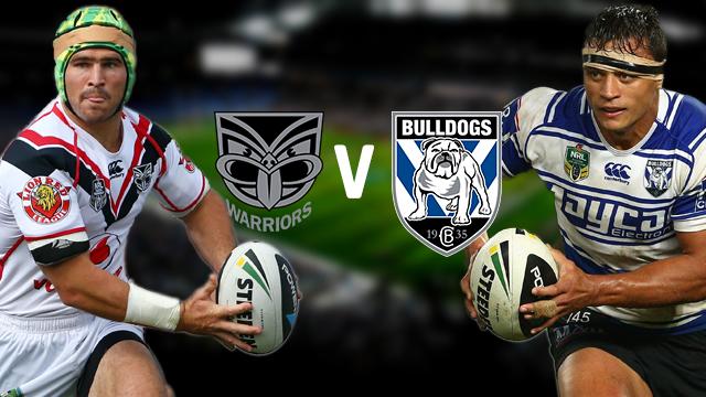 v Canterbury Bulldogs V Bulldogs